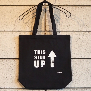 トートバッグ(BLACK) [ THIS SIDE UP ]